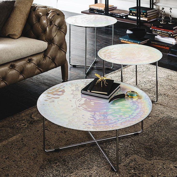 Cattelan Italia Vinyl coffee table by Oriano Favaretto