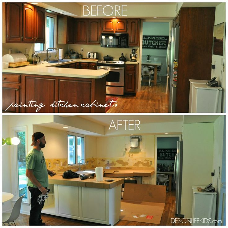 Painting Decorating Wirral Before After Resurfacing: Best 25+ Cheap Kitchen Cabinets Ideas On Pinterest