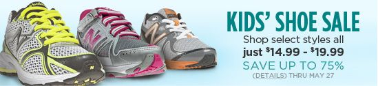 Joe's New Balance Outlet - Free Shipping On All Orders + Up to 75% Off Kids Shoe Sale!