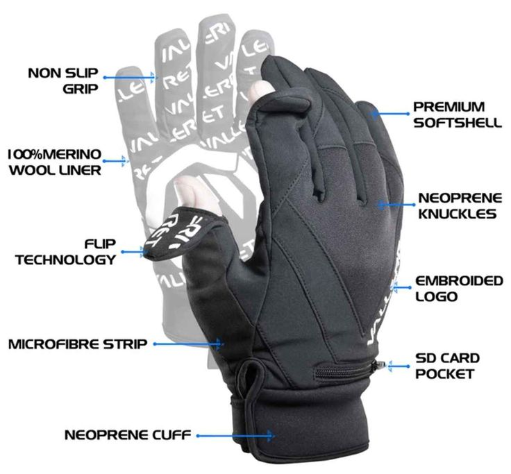 Winter Sports Photography Gloves