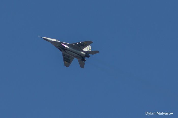 Crews of Ukrainian tactical aviation brigade conducted flight training on MiG-29 and L-39