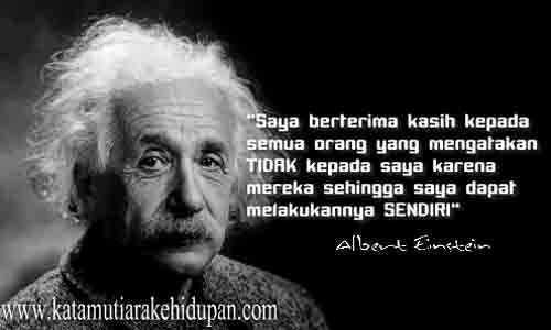 Kata Mutiara Kehidupan Albert Einstein
