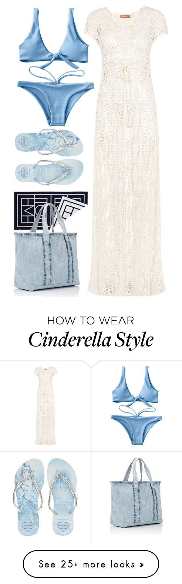 """""""Sunset today is gonna be awesome"""" by rahayudiah on Polyvore featuring Meskita, Havaianas, Biarritz and Barneys New York"""