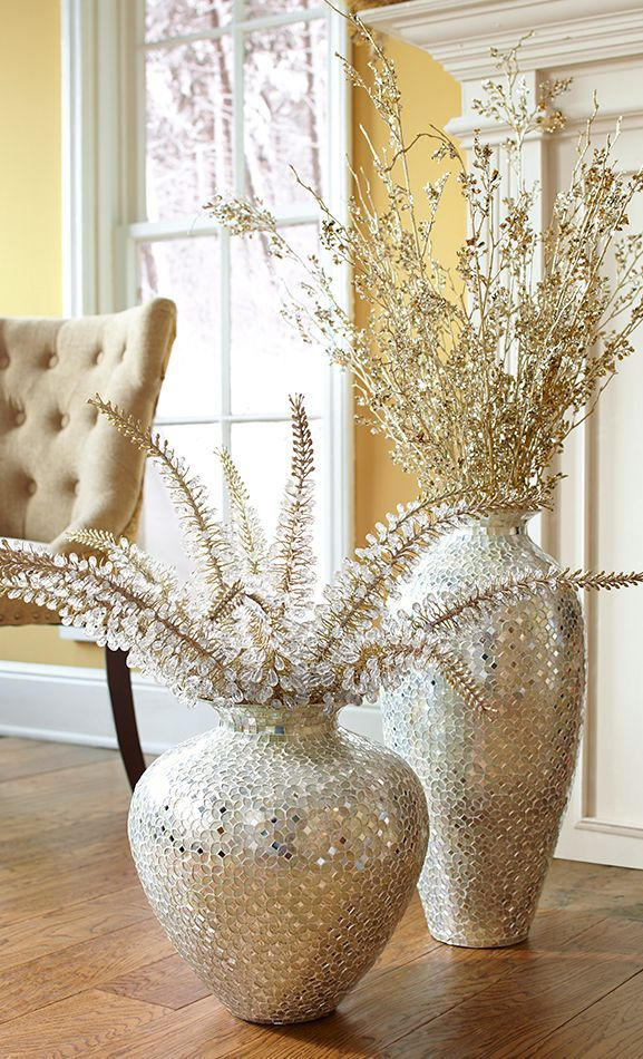 Best 20 floor vases ideas on pinterest decorating vases floor decor and rustic office decor - Great decorative flower vase designs ...