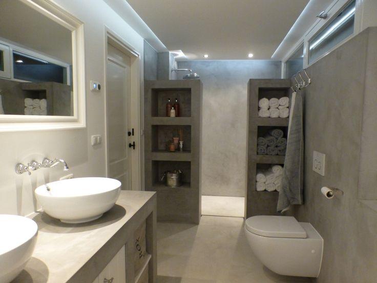 waterdicht stucwerk badkamer mortex color woonhuis linschoten 12