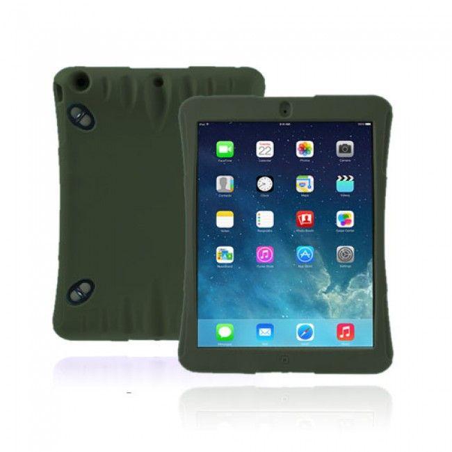 Expedition (Armeijan Vihreä) iPad Air Ultra Suojakuori - http://lux-case.fi/ipad-air-suojakuoret.html