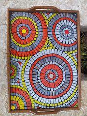 New Decorative tray, mosaic tray