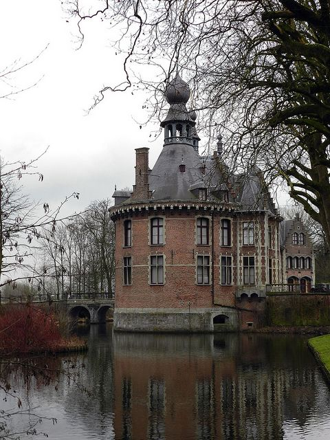 Ooidonk Castle is a castle in the city of Deinze, East Flanders, Belgium. The castle is the residence of the current Earl t'Kint de Roodenbeke.