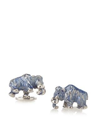 58% OFF Jan Leslie Blue Mammoth Sterling Silver Cufflinks