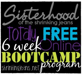 Totally Free 6-Week Online Bootcamp Program from www.shrinkingjeans.net #free #fitness #bootcamp