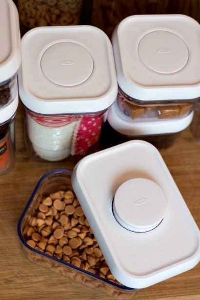 organizing my kitchen with oxo pop container tips on organizing your kitchen or pantry with