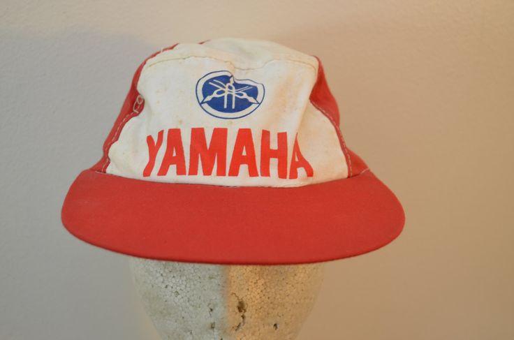 yamaha hat. vintage yamaha baseball painter hat old logo 1960\u0027s 70\u0027s motorcycle biker by ilovevintagestuff on etsy | something from the shop pinterest bikers yamaha