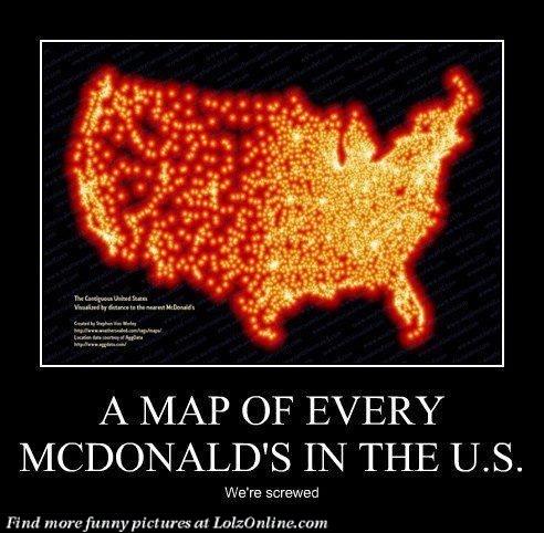Best McDonalds Images On Pinterest Mcdonalds Fast Foods - Map ever mcdonalds in the us
