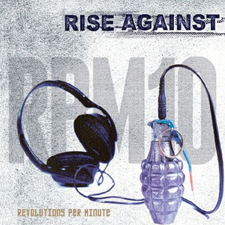 Rise Against - Revolutions Per Minute on Colored LP + Download
