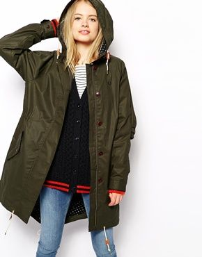 Fred+Perry+Classic+Parka