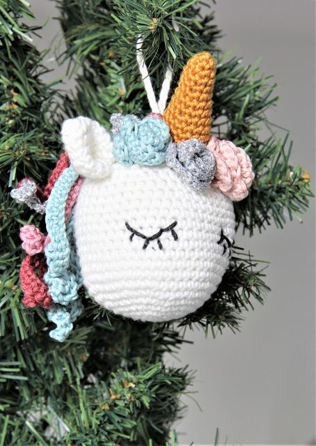Crochet Eenhoorn Gratis Haakpatronen Gratis Patroon Haken Kerst