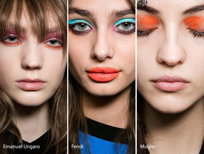 Fall/ Winter 2016-2017 Makeup, Beauty Trends: Colorful Eye Makeup
