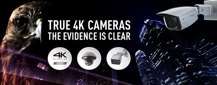 Panasonic 4K Security Cameras for Professionals