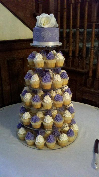 wedding cake cupcake tower | Wedding Cupcake Tower - by CakesbyKimNC @ CakesDecor.com - cake ...