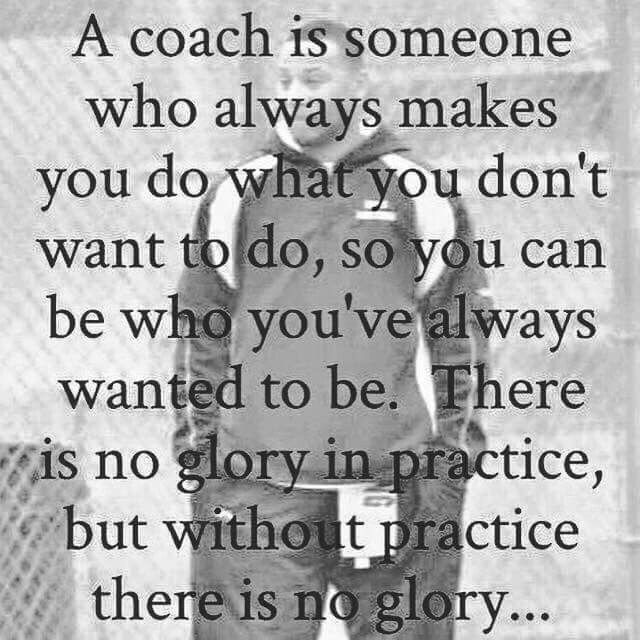 Coach glory #quotes #TinCanApparel http://www.goodnetballdrills.com/4-netball-passing-drills-to-improve-techniques/