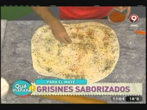 Grisines saborizados - YouTube