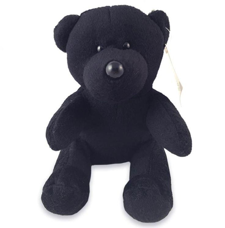 Wholesale Teddy Bear Black Plush Stuffed Animal Toy (Case of 24)