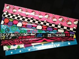 Duct Tape Slap Bracelet's   FLASHBACK! Oh yeah baby, Slap Bracelets are back...or maybe they never really went away and I just didn't know i...