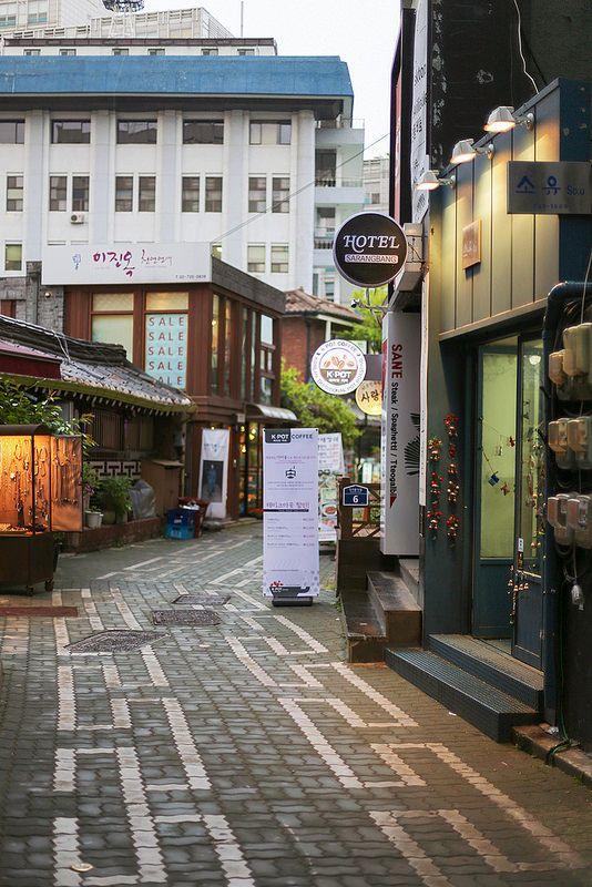 Insadong, Seoul.  Come And Visit Us At - http://BurnTheBridgeMarketing.Net