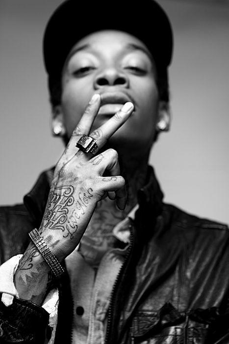 Love Wiz Khalifa...and his tatts!