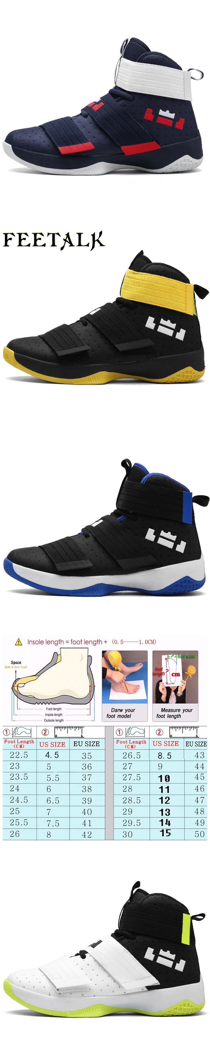 2017 Men's Women's Basketball Shoes Sneaker PU Breathable outdoor Athletic  Sport boots Sneakers For Male Basketball