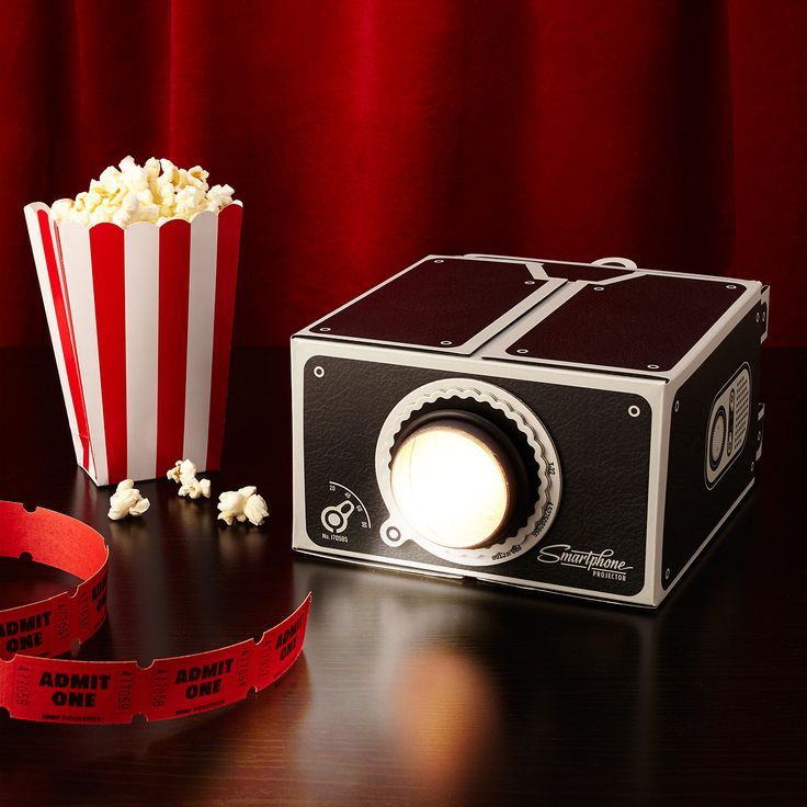 They may not be all too familiar with a drive-in movie theater, but teens can replicate the same fun in their own bedroom, watching video clips from their phone.  $31.95, uncommongoods.com  - GoodHousekeeping.com