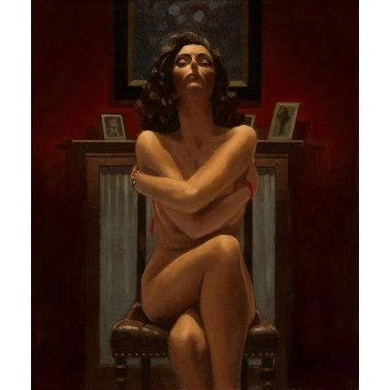 Just the Way It Is- Jack Vettriano