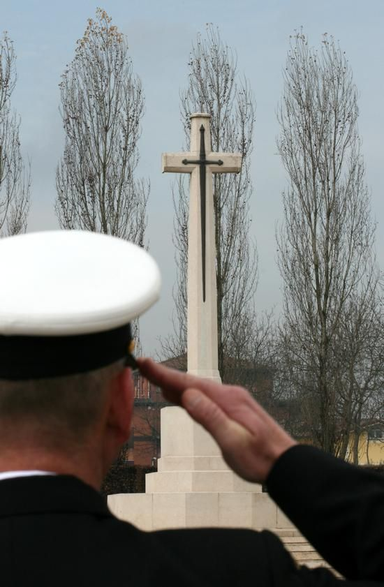 Ceremony of Remembrance at Cassino War Cemetery