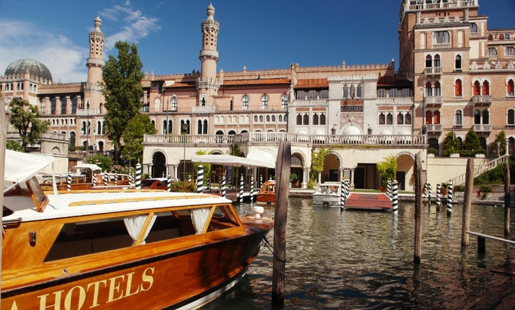 Italy - Venice  Hotel Excelsior Venice Lido    The 197 rooms and suites at the Excelsior Venice Lido hotel offer luxurious comfort with air-conditioning and modern amenities.