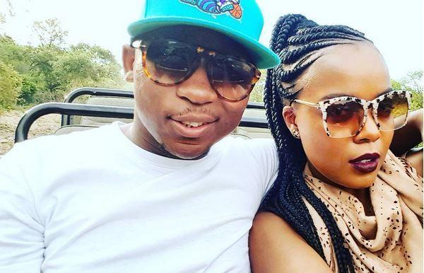 Khuli Chana and his girlfriend Asanda Maku enjoy baecation