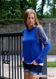 Пуловер Michigan by Amy Miller описание стырнечено - Вязание - Страна Мам