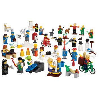 Community Minifigure Set,9348 For P