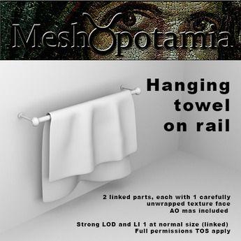 Meshopotamia Towel on Rail 001