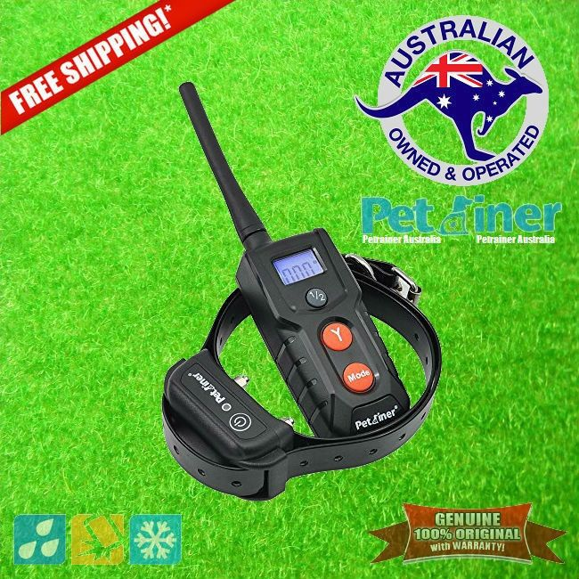Petrainer PET-916R E-Collar Rechargeable and Submersible