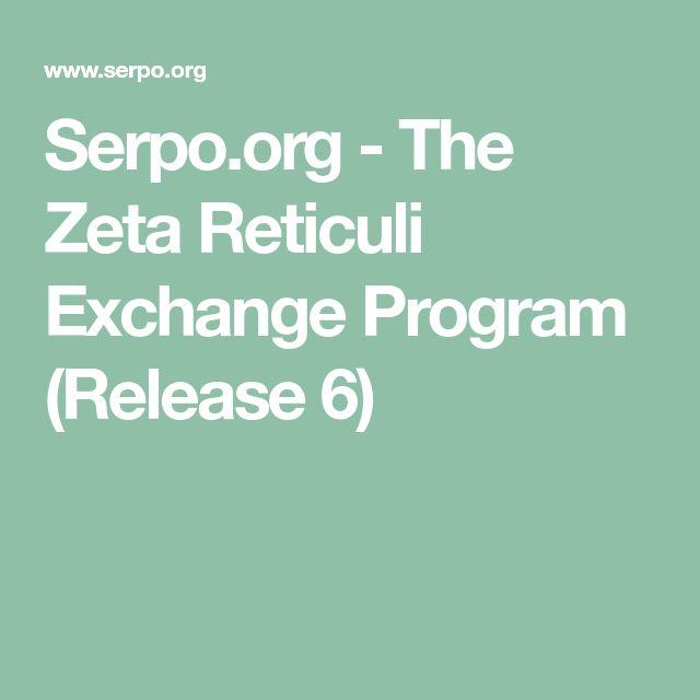 Serpo.org - The Zeta Reticuli Exchange Program (Release 6)