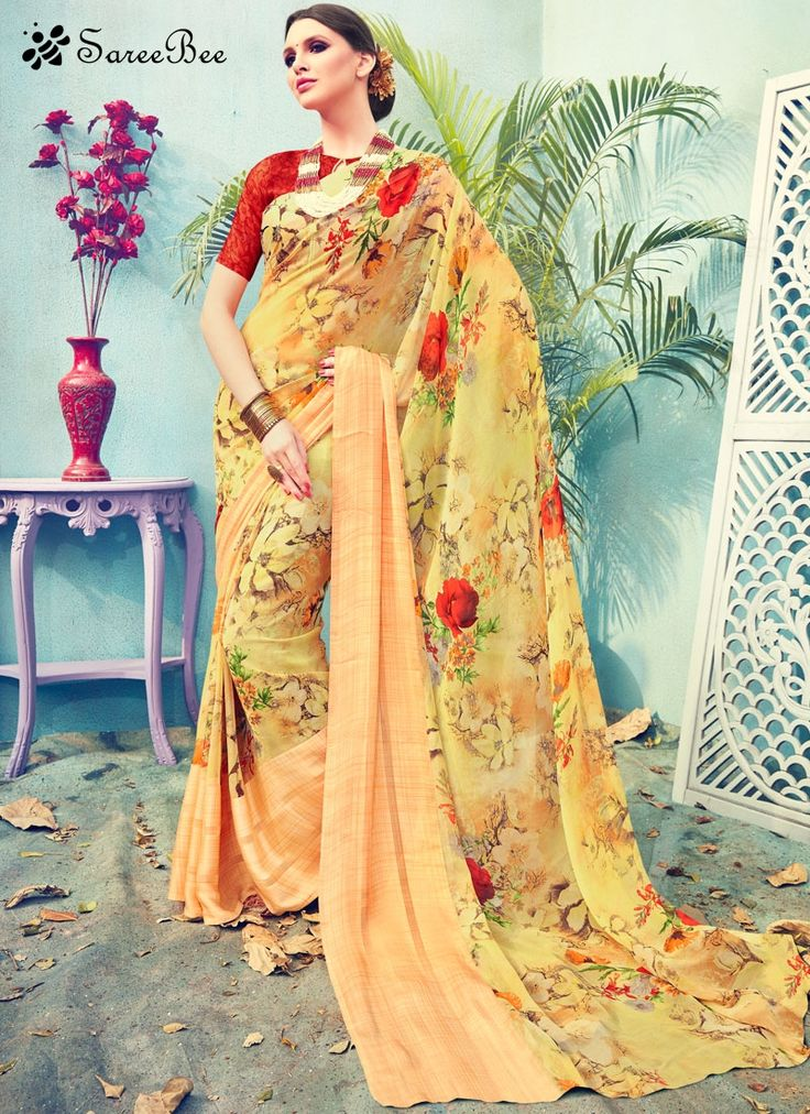 Resplendent Satin Multi Colour Print Work Printed Saree  We are to breathe life into your aspirations and to make a mark in the world of style. Attract compliments by this multi colour satin printed saree. The lovely print work throughout the attire is awe-inspiring. Comes with matching blouse.