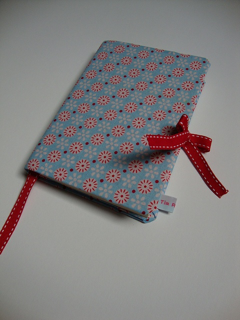 A7 notebook w/ Tilda fabric