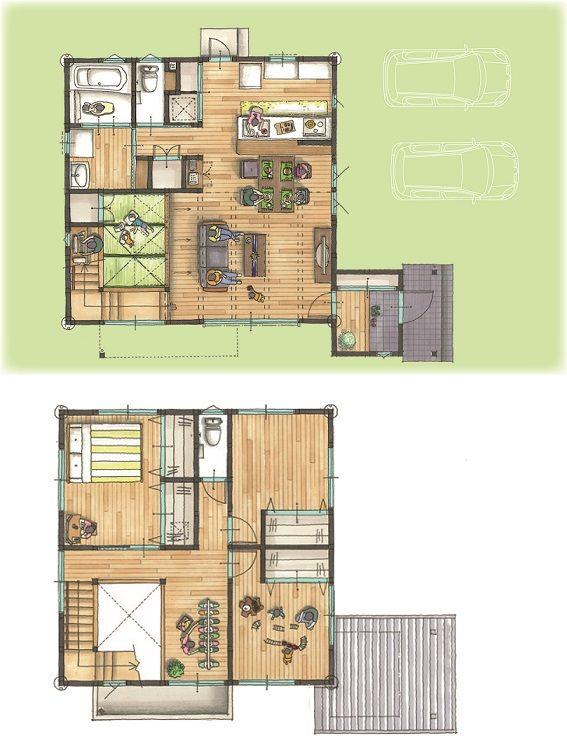 ■クローゼット付き■ セミオーダーの規格住宅このみアレンジ* 洋室に収納を取り入れました。
