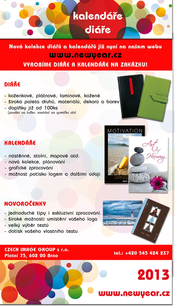 Kalendáře, diáře, novoročenky http://www.newyear.cz/cz/novorocenky-kalendare/nastenne-kalendare.html#katalog