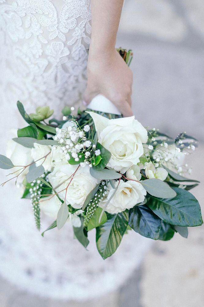 Baby S Breath Wedding Ideas For Rustic Weddings Wedding Forward White Wedding Bouquets White Wedding Flowers Wedding Bouquets
