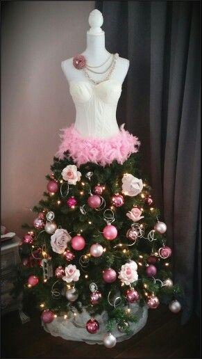 Paspop kerstboom