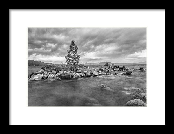 This image was photograph in Lake Tahoe, Nevada. The storm clouds approached rapidly.