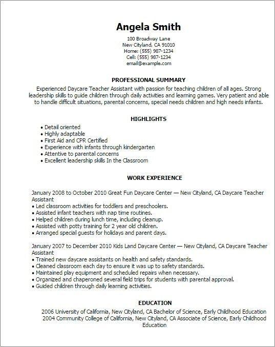 Resume kindergarten teacher assistant does microsoft word have a resume builder