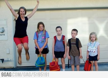 "Best ""back-to-school"" photo I've seen yet!"