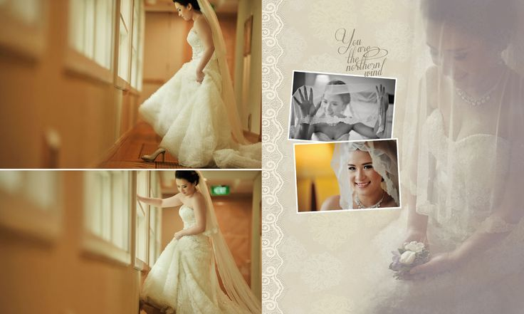 Wedding Day Album Design, photo by HOP, edit & design by Wenny Lee ...